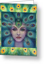 Goddess Isis Visions Greeting Card