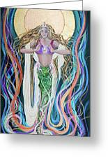 Goddess Of Intention Greeting Card