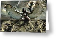 Goddess Of The Sea Greeting Card