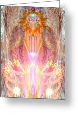 Goddess Shakuru Greeting Card