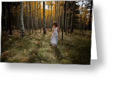 Goddess Walk Greeting Card