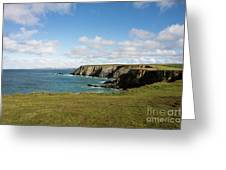 Godrevy To St Agnes, The North Cornwall Coastline Greeting Card
