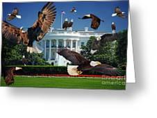 Gods Generals In Washington Greeting Card