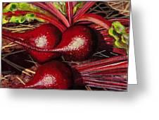 God's Kitchen Series No 2 Beetroot Greeting Card