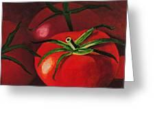 God's Kitchen Series No 3 Tomato Greeting Card