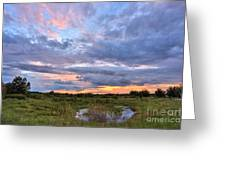 God's Painting Greeting Card