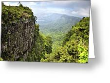 God's Window And The Blyde River Canyon Greeting Card