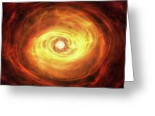 Godseye Galaxy Greeting Card