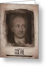 Goethe Greeting Card