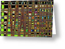 Going And Going Abstract Greeting Card