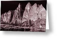 Going Dark #3 Monolith Greeting Card