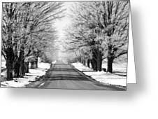 Going Home For The Holidays  Greeting Card