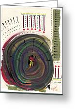 Going In Circles Greeting Card