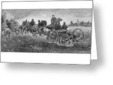 Going Into Battle - Civil War Greeting Card