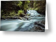 Goitstock Mill Waterfall  Greeting Card