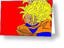 Gokou Greeting Card