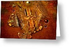 Gold Angel Greeting Card