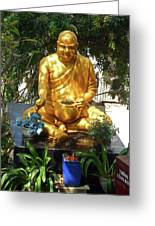 Gold Buddha 4 Greeting Card