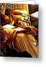 Gold Buddha 5 Greeting Card