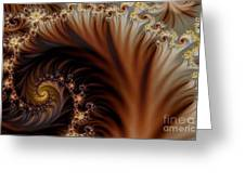 Gold In Them Hills Greeting Card by Clayton Bruster