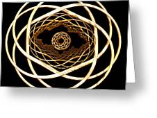 Gold On Gold Greeting Card