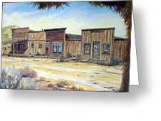 Gold Point Nevada Greeting Card by Evelyne Boynton Grierson
