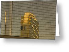 Gold Reflections Greeting Card