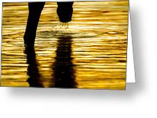 Gold Strike Greeting Card