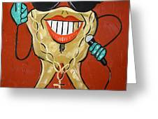 Gold Tooth Greeting Card by Anthony Falbo