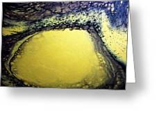 Gold Underground Greeting Card