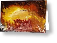 Gold Vein Greeting Card