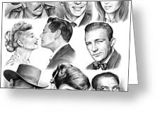 Golden Age Montage Greeting Card