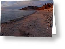 Golden Beach Greeting Card