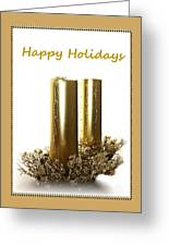Golden Candles Greeting Card