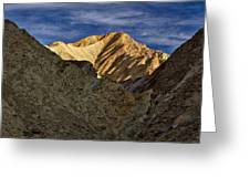 Golden Canyon View #2 - Death Valley Greeting Card