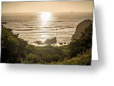Golden Cove Greeting Card