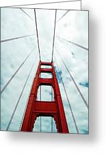 Golden Crossing - Golden Gate Bridge San Francisco Greeting Card