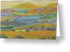 Golden Dakota Day Dream Greeting Card