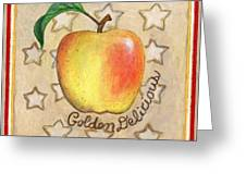 Golden Delicious Two Greeting Card