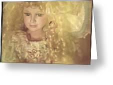 Golden Fairy Greeting Card