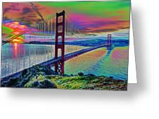 Golden Gate 1 Greeting Card