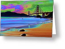 Golden Gate 2 Greeting Card