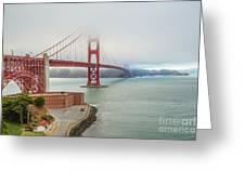 Golden Gate Bridge Fort Point Greeting Card