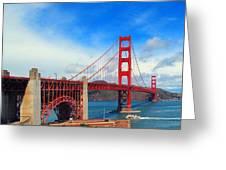 Golden Gate Bridge Four Greeting Card
