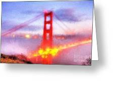 Golden Gate Bridge IIi Greeting Card