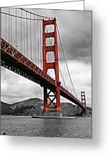 Golden Gate Bridge - San Francisco Greeting Card