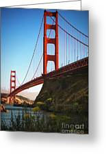 Golden Gate Bridge Sausalito Greeting Card