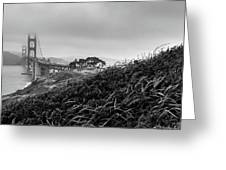 Golden Gate From Godfrey Greeting Card