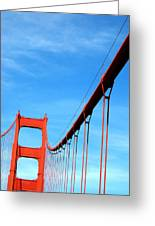 Golden Gate II Greeting Card