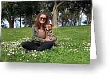 Golden Gate Park Greeting Card